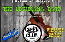 Concierto de Louisiana Cats en el Green Club