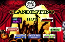 Clandestinos en el Green Club Cafe